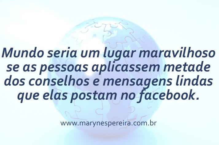 mundo e facebook