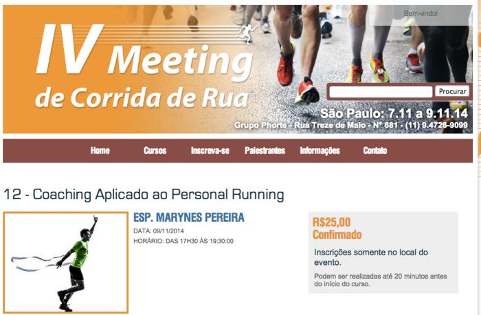 meeting de corrida